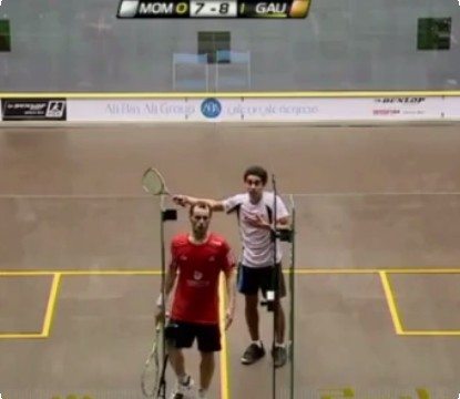 Squash Referees - Tough Job